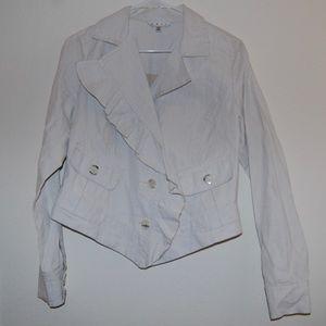 CAbi Ruffle Jacket